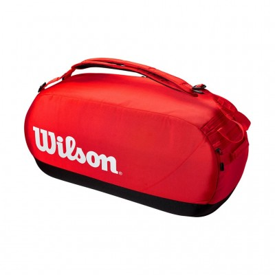 WILSON SUPER TOUR LARGE DUFFLE BAG WR8011101001 RED