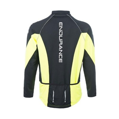 ENDURANCE VOSTOK M L-S CYCLING JACKET E183561 ΜΑΥΡΟ ΚΙΤΡΙΝΟ