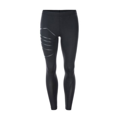 BURNLAND M COMPRESSION LONG TIGHTS E163740 ΜΑΥΡΟ