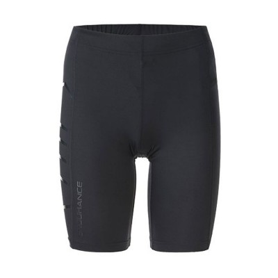CHARLESTOWN W COMPRESSION SHORT TIGHT E163747 ΜΑΥΡΟ