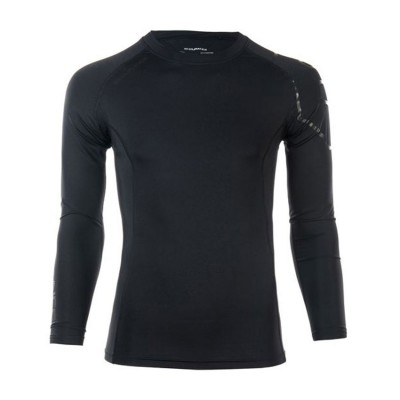 CENARFON M COMPRESSION L/S SHIRT E163741 ΜΑΥΡΟ