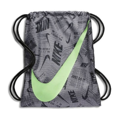NIKE GRAPHIC GYM SACK BA5262 056 ΓΚΡΙ