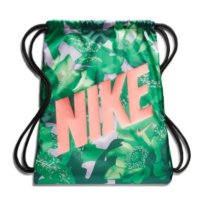 NIKE GRAPHIC GYM SACK BA5262 629 ΠΡΑΣΙΝΟ