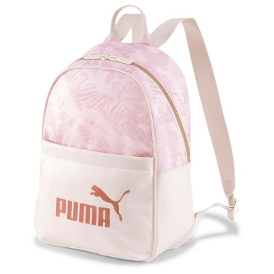 PUMA CORE UP BACKPACK 076970 02 ΡΟΖ ΣΟΜΟΝ