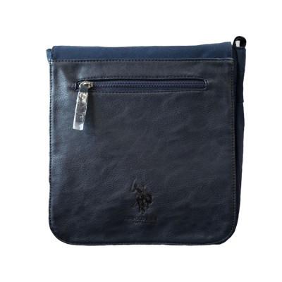 US POLO BAG PU MENS 023 06 ΜΠΛΕ