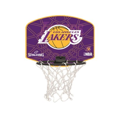 SPALDING BACKBOARD SET LAKERS 77 628Z1 ΜΩΒ