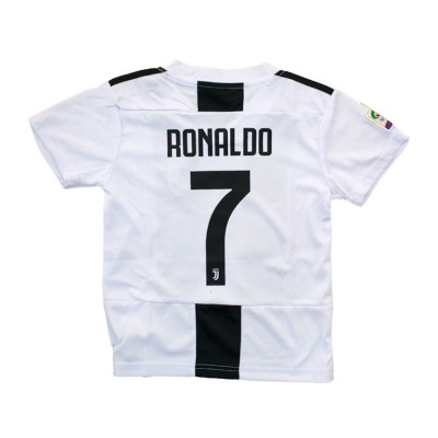 SOCKER TEAM SET JUVENTUS JUNIOR RONALDO ΜΑΥΡΟ