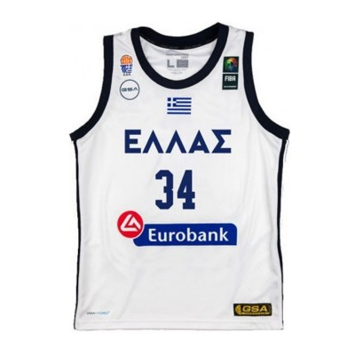 GSA HELLAS GAME SHIRT ANTETOKOUNMPO 1791065 001 ΛΕΥΚΟ
