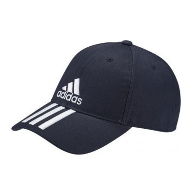 ADIDAS SIX PANEL CLASSIC 3 STRIPES CAP DU0198 ΜΠΛΕ ΛΕΥΚΟ