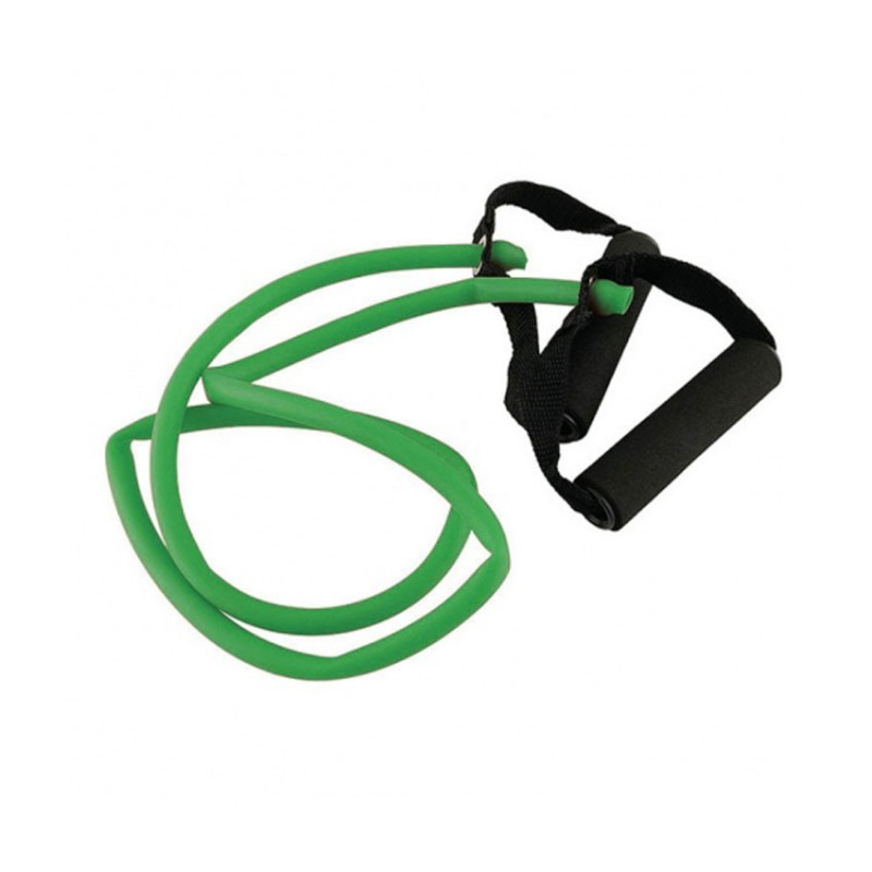 TOORX ELASTIC TUBE WITH HANDLES MEDIUM AHF-145 10-432-173 GREEN