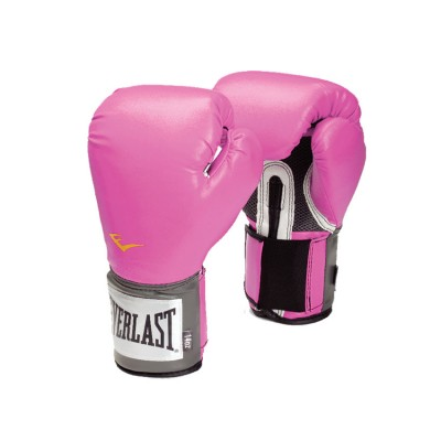 EVERLAST 2508A VELCRO PRO STYLE TRNG GLOVES PINK