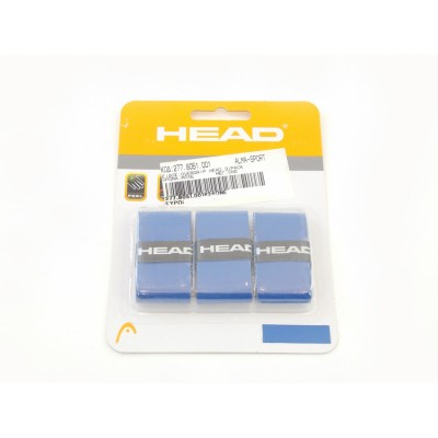 OVERGRIP HEAD 3/PACK ΛΕΥ