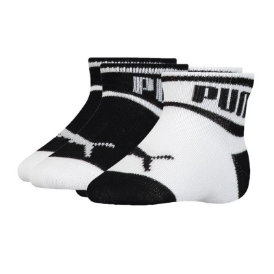PUMA BABY WORDING SOCK 2 PACK 295002001 213 ΜΑΥΡΟ ΛΕΥΚΟ