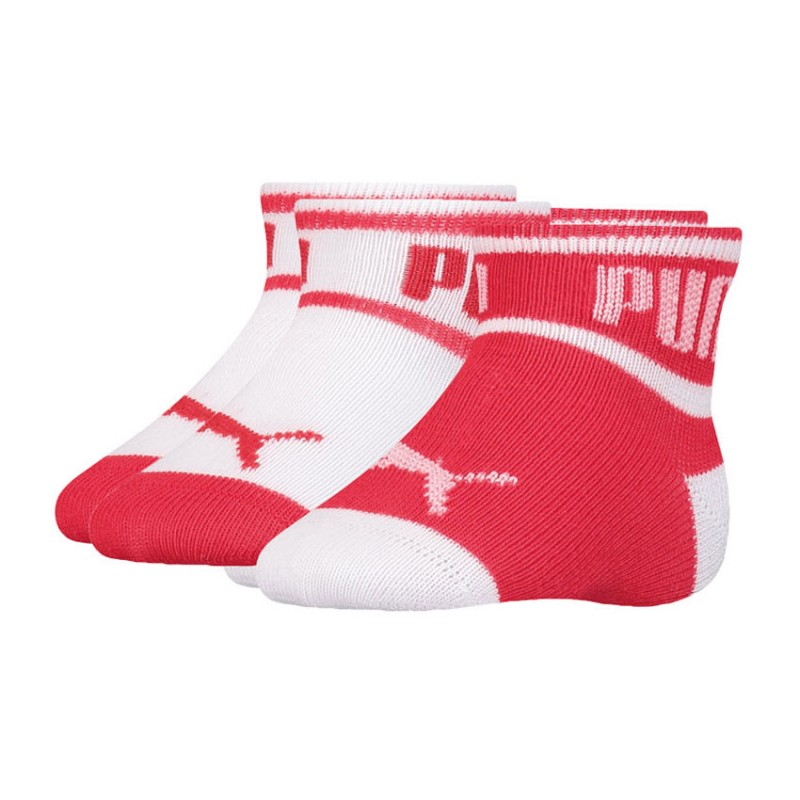 PUMA BABY WORDING SOCK 2 PACK 295002001 435 RED