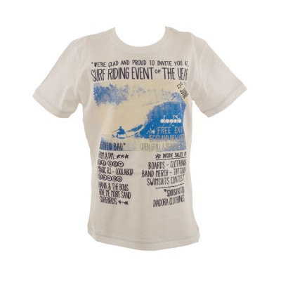 DIADORA T SHIRT JUNIOR 159515  WHITE ΛΕΥΚΟ