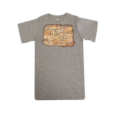 NIKE JUNIOR SB GRAPHIC T SHIRT 977555 042 GREY ΓΚΡΙ