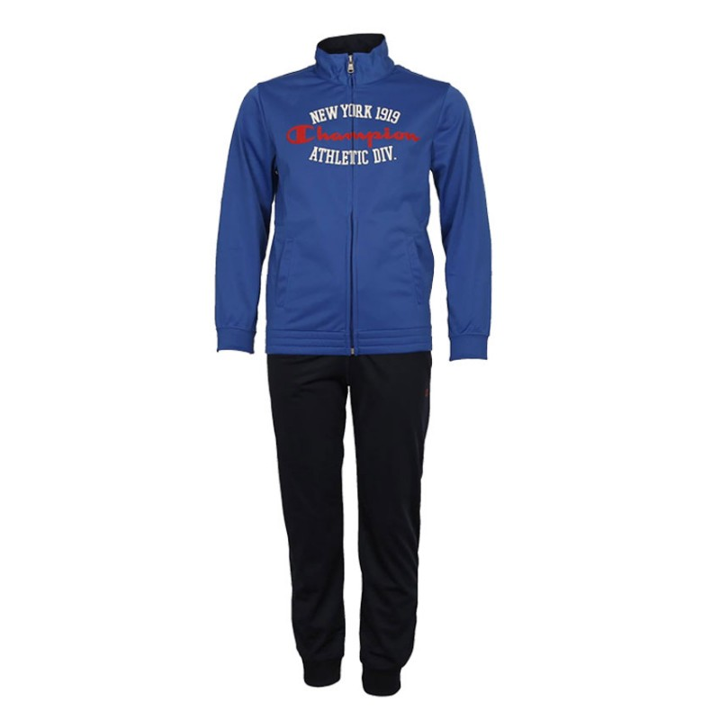CHAMPION TRACKSUIT KIDS 304555 ROYAL/NAVY