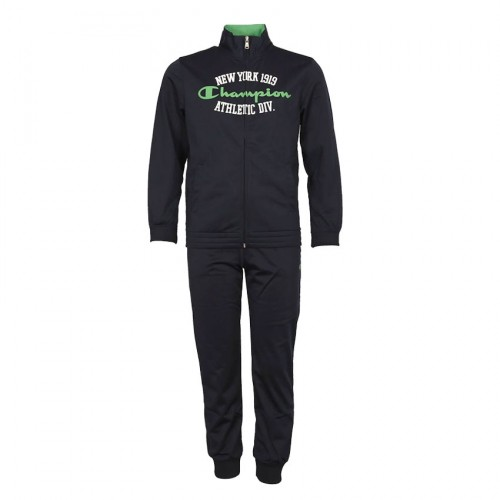 CHAMPION TRACKSUIT KIDS 304555 NAVY