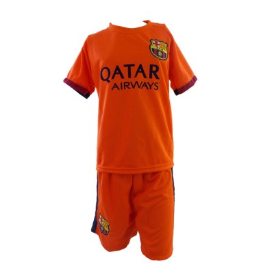 SET SOCKER  JUNIOR BARCELONA 002 NEYMAR-ORANGE