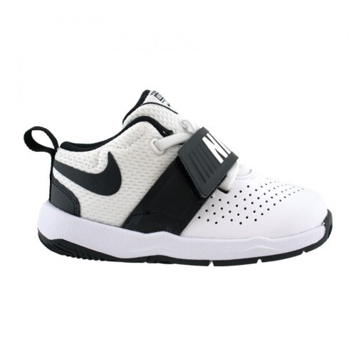 NIKE TEAM HUSTLE D 8 881943 08 WHITE BLACK