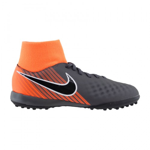 NIKE JR MAGISTA OBRAX 2 DYNAMIC FIT AH7318 080 ΑΝΘΡΑΚΙ ΠΟΡΤΟΚΑΛΙ