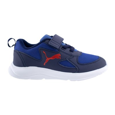PUMA FUN RACER KIDS TRAINERS 192971 03 ΜΠΛΕ