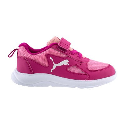PUMA FUN RACER KIDS TRAINERS 192971 04 ΡΟΖ
