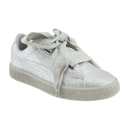 PUMA BASKET HEART HOLIDAY GLAMOUR 367631 03 SILVER