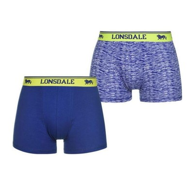 BOXER LONSDALE 2/PACK 422011 57 ΡΟΥΑ ΛΕΥΚΟ