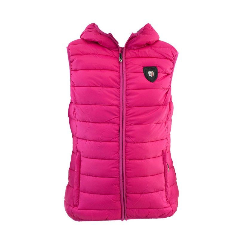 GEOGRAPHICAL NORWAY VOLANTIS VEST JACKET WQ737F GN FUCHSIA