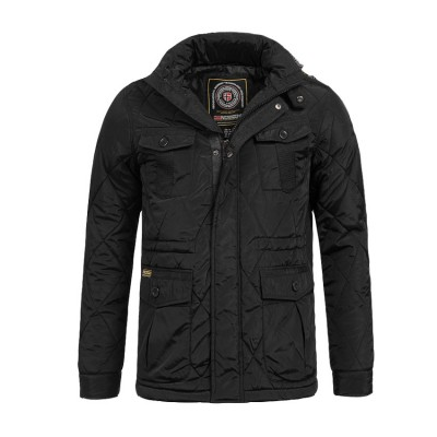 NORWAY ANDREW JACKET SP218H ΜΑΥΡΟ