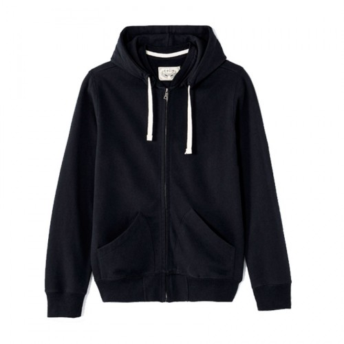 CELIO JACKET ZIP COTTON FEPIG ΜΑΥΡΟ