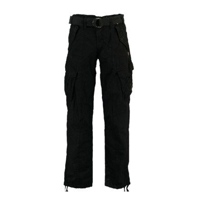GEOGRAPHICAL NORWAY PANTERE PANTS GNCPA180H ΜΑΥΡΟ