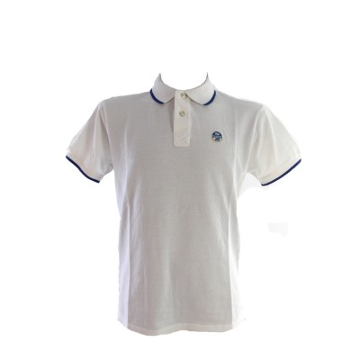 T/S NORTH SAILS POLO ANTHONY 4064 WHITE ΛΕΥΚΟ