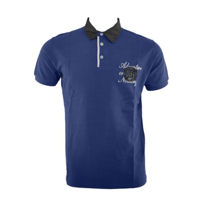 SANTANA T SHIRT POLO SS15228 NAVY ΜΠΛΕ