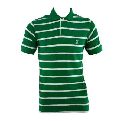 SANTANA T SHIRT POLO SA2465 GREEN ΠΡΑΣΙΝΟ ΛΕΥΚΟ