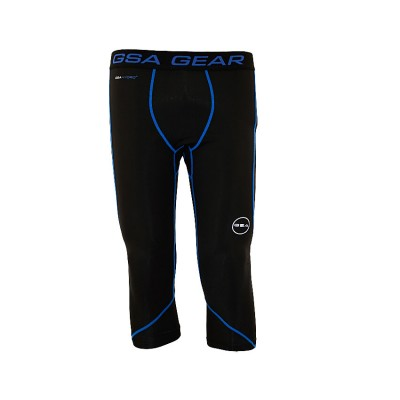 GSA COMPRESSION 3 4 LEGGINGS 181608 ΜΑΥΡΟ ΡΟΥΑ