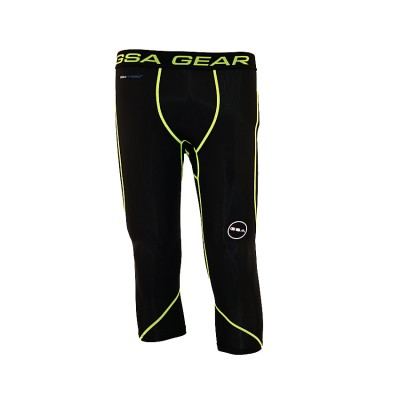 GSA COMPRESSION 3 4 LEGGINGS 181608 ΜΑΥΡΟ ΛΑΧΑΝΙ