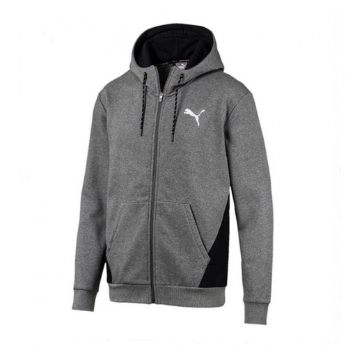 PUMA MODERN SPORTS FZ HOODY FL  580529 03 GREY