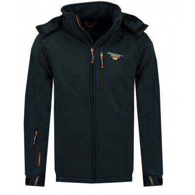 GEOGRAPHICAL NORWAY SOFT SHELL TABOO MEN BASIC WR380H GN ΜΠΛΕ