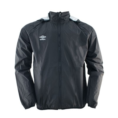 UMBRO SHOWER JACKET 62871E ΜΑΥΡΟ