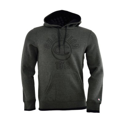 CHAMPION SWEATSHIRT HOOD 210663-EZ502 ΑΝΘΡΑΚΙ