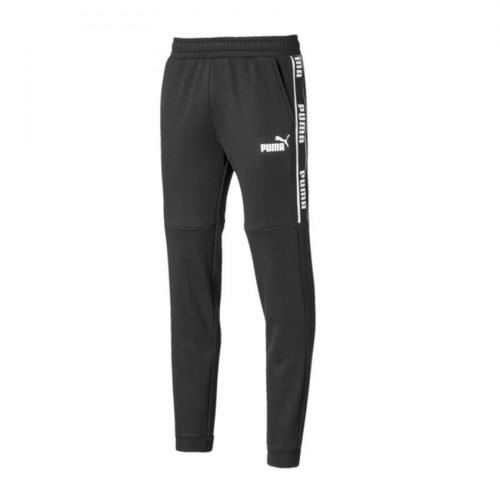 PUMA AMPLIFIED PANTS 580436 01 BLACK WHITE