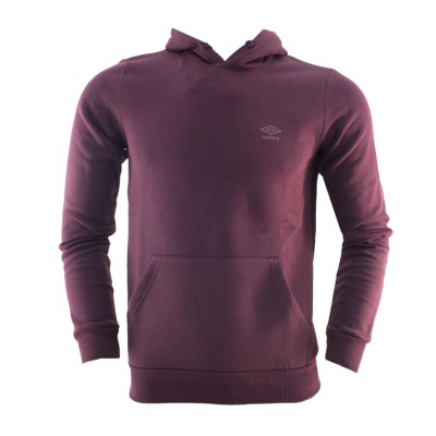 UMBRO HOODED SWEAT 62791E 00Q1 ΜΠΟΡΝΤΟ