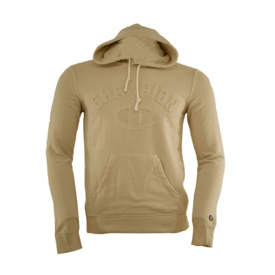 CHAMPION SWEATSHIRT HOOD 210695-ES001 ΕΚΡΟΥ
