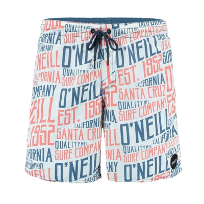 O NEILL PM SIGNAGE SHORTS 7A3214 1900 WHITE ΛΕΥΚΟ