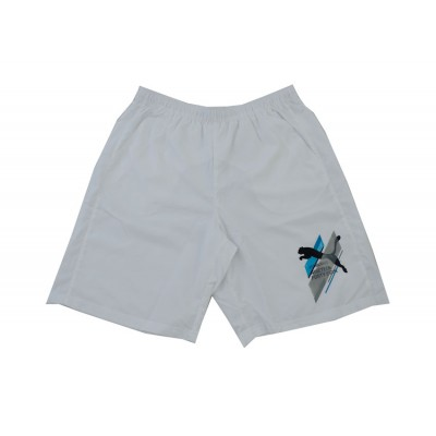 PUMA FUN DRYGRAPHIC SHORT 836529 02 WHITE ΛΕΥΚΟ
