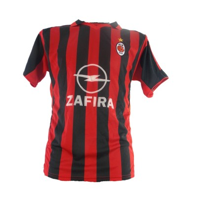 REPLIKAS SOCKER TEAM MILAN MEN ΜΑΥΡΟ/ΚΟΚΙΝΟ