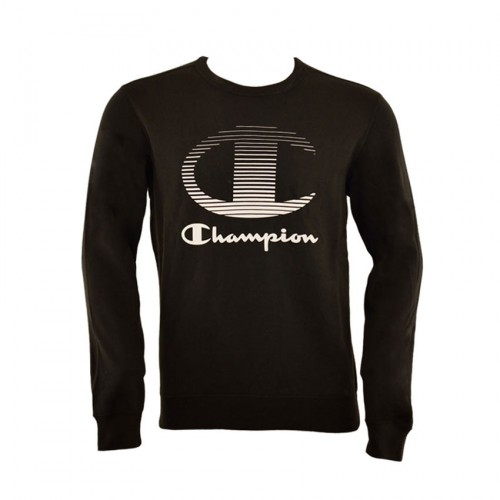 CHAMPION CREWNECK 211594 KK001 BLACK