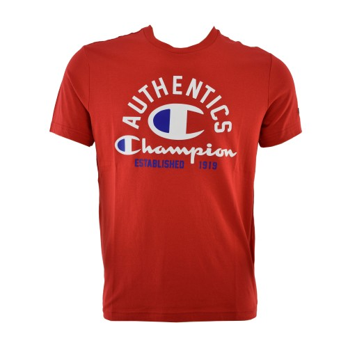 CHAMPION T SHIRT 211285 RS017 ΚΟΚΚΙΝΟ